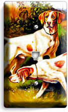 HUNTING HOUND DOGS PHONE TELEPHONE WALL PLATE COVER ROOM HUNTERS CABIN ART DECOR