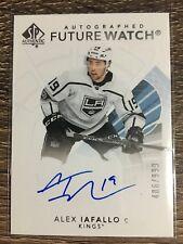 Alex Iafallo 2017-18 SP Authentic Autographed Future Watch #406/999 C'D #192
