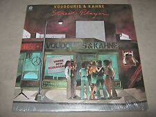 Roger VOUDOURIS David KAHNE Street Player SEALED 1st Prs NoCut Vinyl LP ST-11554