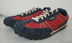 Timberland Eartherkeepers Greeley Low Sneakers 5728A Red Blue Mens Size 8.5
