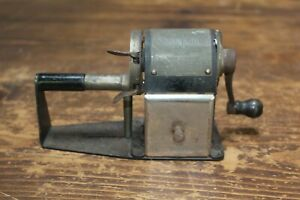 Antique Dandy Automatic Pencil Sharpener, Patent Date 1916, Sliding Feed, Works!