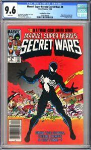 Marvel Super Heroes Secret Wars #8 CGC 9.6 Origin of the Alien Symbiote!L@@K!