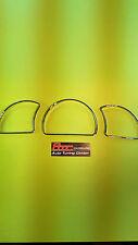 Für Opel Astra F/Calibra A/ Vetra A 3 Instrumentenringe verchromt/Chrom IRO02
