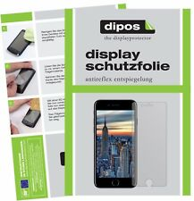 2x Apple iPhone 8 Schutzfolie matt Displayschutzfolie Folie Display Schutz dipos