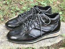 MEPHISTO Mobils Men's Brown Leather Sneakers Boots Shoes Size 8 Made In France