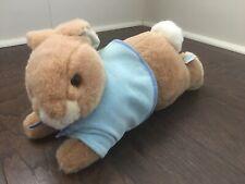 EDEN Frederick Warne Peter Rabbit Plush Laying Down Easter Bunny Stuffed Animal