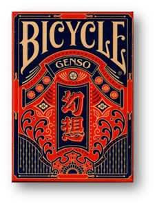 Bicycle Genso Blue Playing Cards by Card Experiment Poker Spielkarten Cardistry