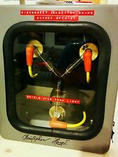 Flux Capacitor Red DYMO Labels, Vintage Style, Back to the Future, PROP COSPLAY