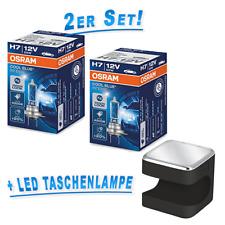 OSRAM H7 Lámpara Cool Blue Intense +20% 4200k Juego de 2 + Cuby Linterna LED