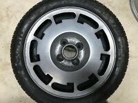 GENUINE VOLKSWAGEN GOLF MK2 PIRELLI P SLOT SPARE ALLOY WHEEL & TYRE 171601025AA