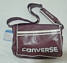 Converse Large Flap Messenger Bag (pre-production sample) Burgundy/White Trim