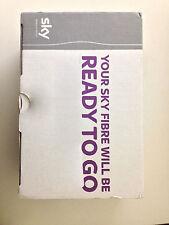sky wireless broadband modem router wifi fibre optic box