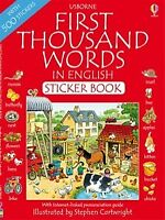 English Sticker Activity book for Children to learn English fun and easy way
