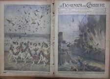 LA DOMENICA DEL CORRIERE 15 22 Gennaio 1922 Cacciatorpediniere Leon California