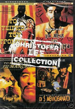 CHRISTOFER LEE COLLECTION 4 MOVIES (Fu Manchu,House of Horrors,Circus Fear) DVD