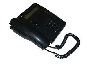 Agfeo ST20 ST 20 Telefon Systemtelefon schwarz gute Zustand                 **37