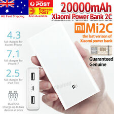 New Xiaomi 20000mAh Portable Power Bank USB Battery Charger Dual USB Port Mi 2C