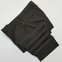 Banana Republic Dress Pants - Slim Fit - Tessuto Marzotto Flat Front Brown 32x29