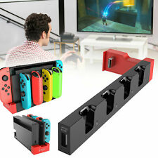 4-In-1 LED Controller Charger Charging Dock Station For Nintendo Switch Joy-Con