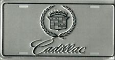 CADILLAC PLAQUE METAL