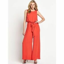 Polyester Petite Scoop Neck Jumpsuits & Playsuits for Women