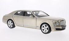1:18 RASTAR - Bentley Mulsanne LHD perle argent