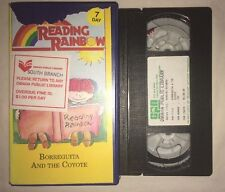 Reading Rainbow - Borreguita And The Coyote Episode 102 (VHS) RARE