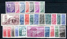 FRANZÖSISCH ANDORRA 1944 Yvert 93-118 ** POSTFRISCH 27 WERTE (F3521