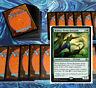 mtg GREEN RISHKAR +1/+1 COMMANDER EDH DECK Magic the Gathering jugan troll rares