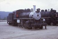 Railroad Steam Locomotives STEAMTOWN VT Bellows Falls Original 1967 Photo Slide