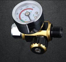 0-0.10Mpa G1/4 Metal Spray Gun Air Pressure Regulator Spray Gun Pressure Gauge