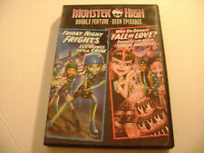 Monster High: Friday Night Frights & Why Do Ghouls Fall In Love (DVD, 2013)