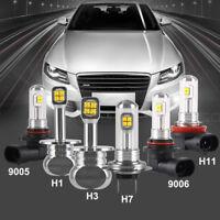 Nighteye H1/H3/H7/H11/9005/9006 LED Fog Light Bulb Car Driving Lamp 1500LM 160W