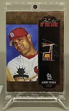 "Albert Pujols 2005 Diamond Kings Master Of The Game Patch ""16/50"" (Excellent+)"
