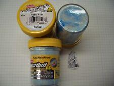 Berkley Power Bait trout Bait glitter garlic WH./neonblue 3x50g-cristal € 100g/6,66