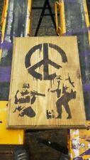 Banksy Wood Art Prints