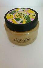 BODYSHOP ZESTY LEMON EXFOLIATING GEL BODY SCRUB 250 ml LTD EDITION SOLD OUT NEW