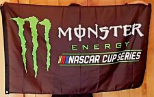Monster Energy NASCAR Cup Flag Drink Logo Sign Banner Christmas Gift