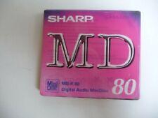 More details for sharp c5 mini disc 80 mins new sealed   code 7