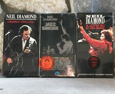Neil Diamond, Greatest Hits Live, Jazz Singer, Love At The Greek, New VHS Tapes