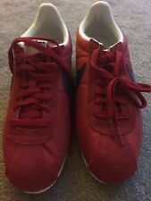 NIKE CLASSIC CORTEZ NYLON AW Running Trainers Gym Fashion - UK 9.5 Red no lid