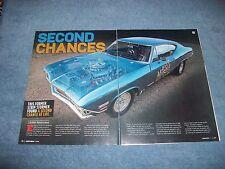 "1968 Chevelle Malibu Ex-Drag Car Article ""Second Chances"""