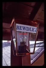 PHOTO  BEWDLEY RAILWAY STATION GAS LAMP
