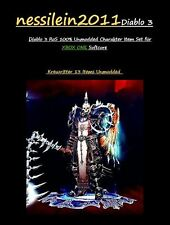 Diablo 3 RoS Xbox One - Kreuzritter/Crusader - UNMODDED - 13 Items - Qual 8/9