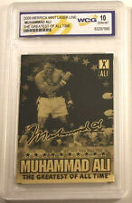 Muhammad Ali 24Kt Gold Card World Champion Boxer Greatest of all Time Signed USA