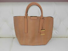 NWOT Gorgeous Michael Kors Snakeskin Tote Made in Italy Peanut Color