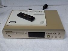 Marantz CD7300 MP3 & CD Player + Original Remote Control & Instruction Manual