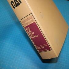 Caterpillar F25 F30 F35 Fc40 Forklift Service Manual Repair Owner Shop Book Cat