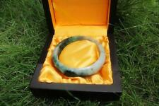 100% Chinese Natural Vintage Grade A Jade Jadeite Bangle Bracelet  #JB02015