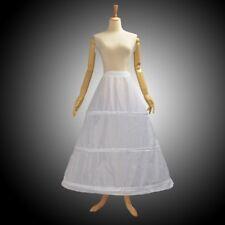 Victorian 3 Hoop Wedding Petticoat Retro Lady Punk Women Ball Gown Underskirt
